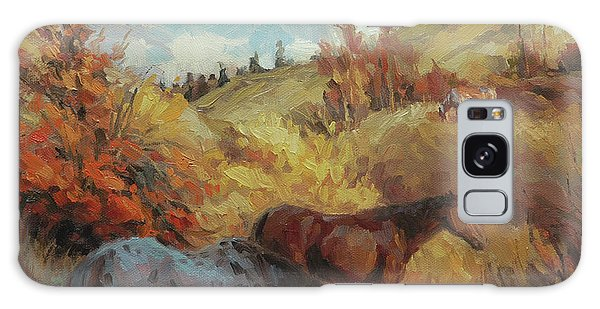 Bush Galaxy Case - Autumn Browsing by Steve Henderson