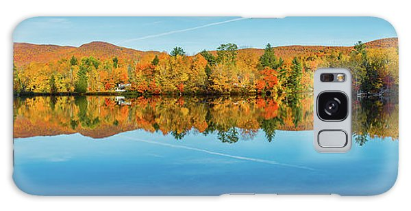 Autumn By The Lake Galaxy Case