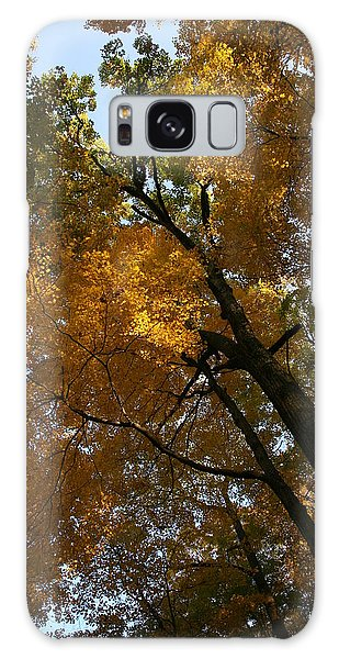 Autumn Canopy Galaxy Case by Shari Jardina