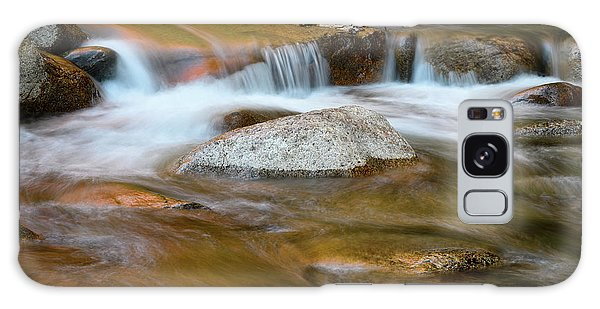 Galaxy Case featuring the photograph Autumn Cascade Nh by Michael Hubley