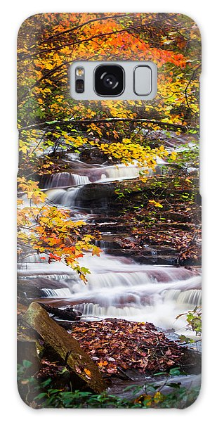 Autumn Cascade  Galaxy Case by Parker Cunningham