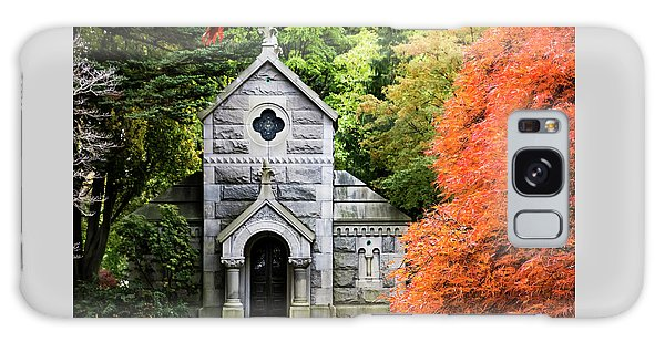 Autumn Chapel Galaxy Case by Betty Denise