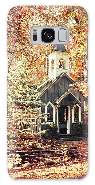 Autumn Chapel Galaxy Case by Joel Witmeyer