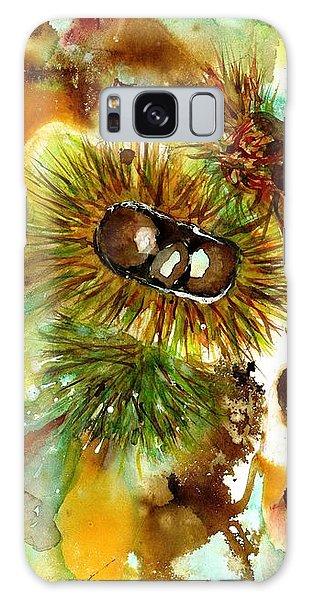 Autumn Chestnuts Galaxy Case