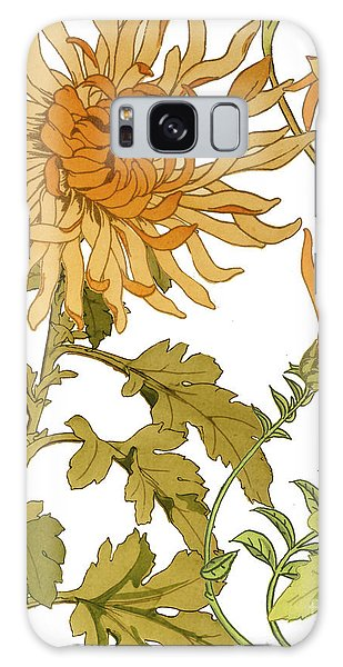 Fall Galaxy Case - Autumn Chrysanthemums I by Mindy Sommers