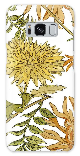 Autumn Galaxy Case - Autumn Chrysanthemums II by Mindy Sommers