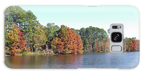 Autumn Color At Ratcliff Lake Galaxy Case