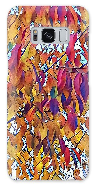 Autumn Color Galaxy Case by Diane Miller