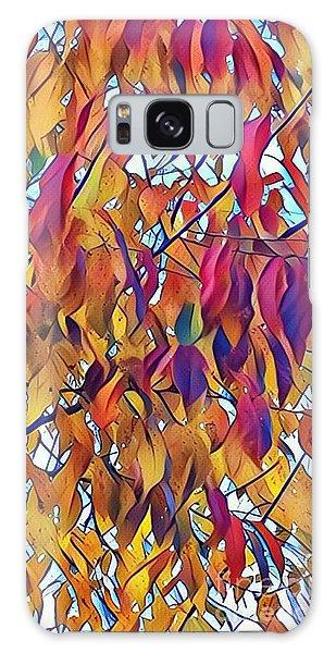 Autumn Color Galaxy Case