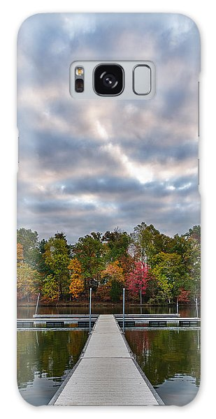 Autumn Colors At The Lake Galaxy Case