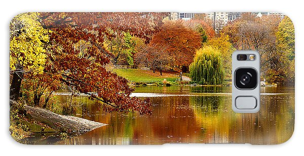 Autumn Colors In Central Park New York City Galaxy Case