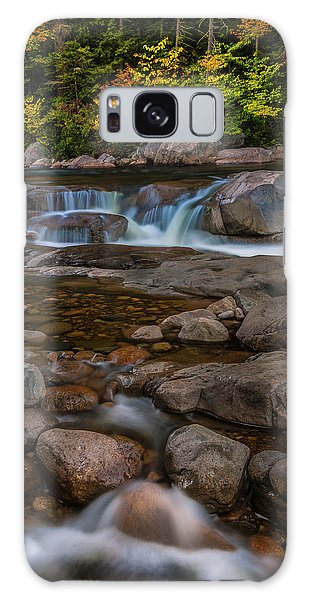 Autumn Colors In White Mountains New Hampshire Galaxy Case