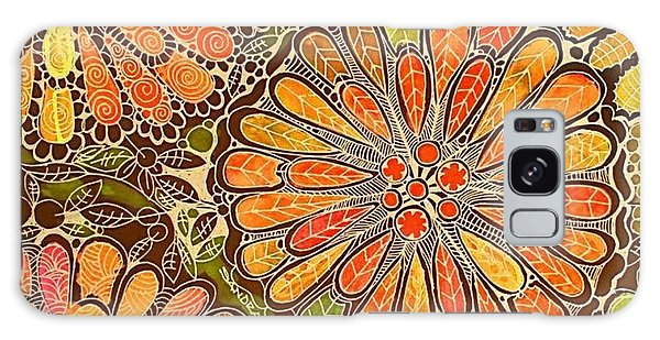 Autumn  Colors Mandalas  Galaxy Case
