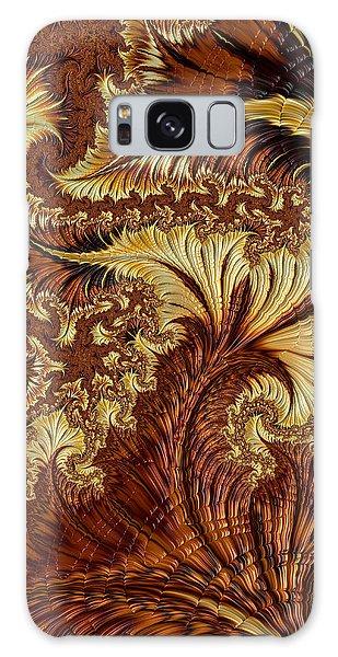 Autumn Gold Galaxy Case