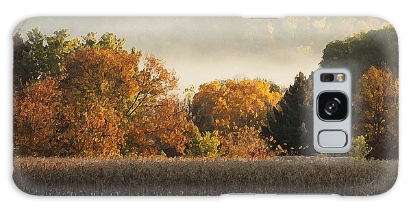 Autumn Cornfield Galaxy Case