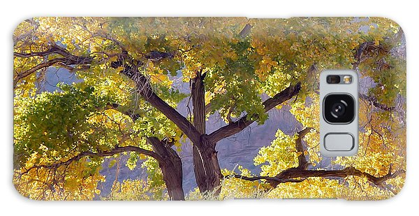 Autumn Cottonwood - Zion Galaxy Case