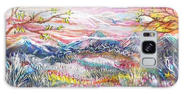 Autumn Country Mountains Galaxy Case