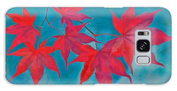 Autumn Crimson Galaxy Case