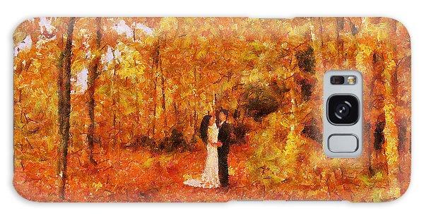 Autumn Dance Galaxy Case
