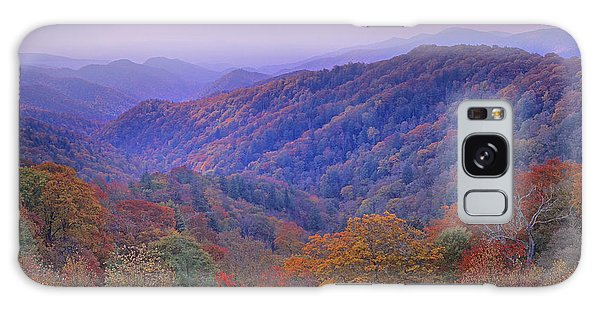 Galaxy Case featuring the photograph Autumn Deciduous Forest Great Smoky by Tim Fitzharris