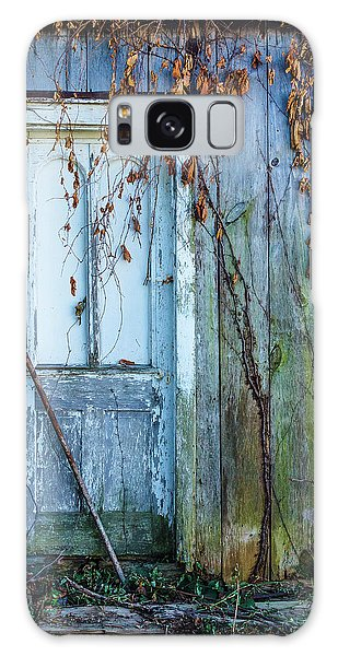 Autumn Door Galaxy Case