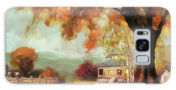 Geese Galaxy S8 Case - Autumn Dreams by Steve Henderson