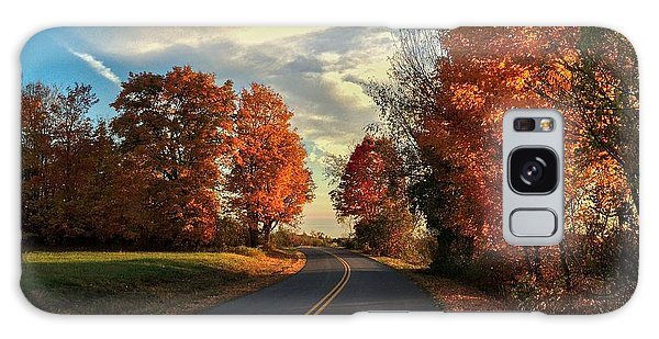 Autumn Drive Galaxy Case