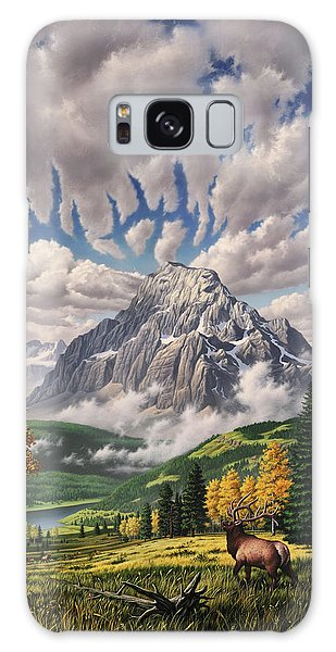 Woodpecker Galaxy S8 Case - Autumn Echos by Jerry LoFaro