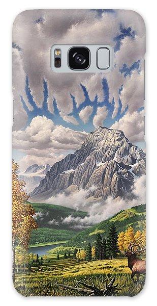 Montana Galaxy Case - Autumn Echos by Jerry LoFaro