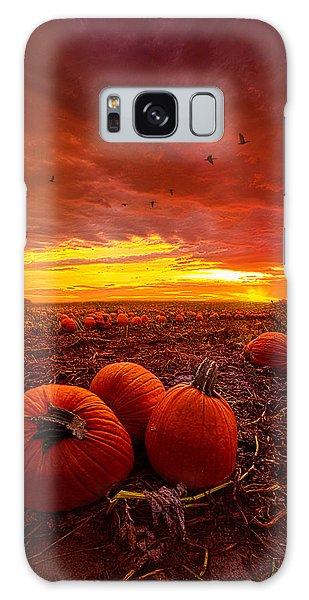 Goose Galaxy Case - Autumn Falls by Phil Koch