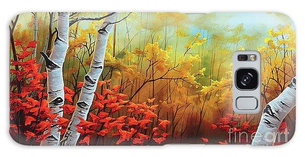 Autumn Fire Galaxy Case