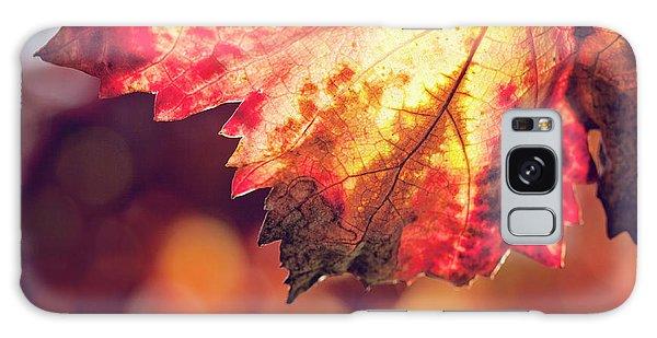 Autumn Fire Galaxy Case by Melanie Alexandra Price