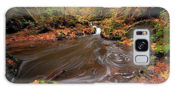 Autumn Flow Galaxy Case