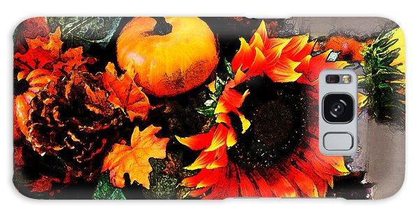 Autumn Flowers Galaxy Case