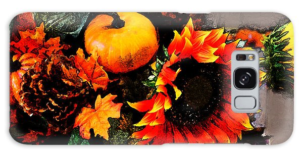 Autumn Flowers Galaxy Case