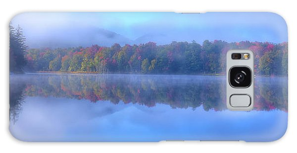 Galaxy Case featuring the photograph Autumn Fog Lifting by David Patterson