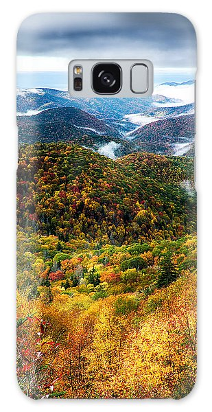 Autumn Foliage On Blue Ridge Parkway Near Maggie Valley North Ca Galaxy Case
