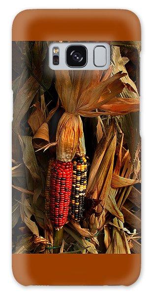 Autumn Harvest Galaxy Case by Kathleen Stephens