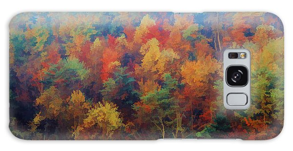 Autumn Hill Aglow Galaxy Case by Diane Alexander