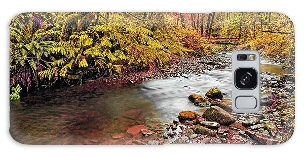 Autumn In An Oregon Rain Forest  Galaxy Case