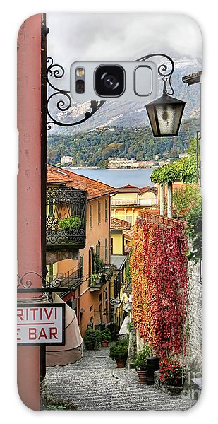 Autumn In Bellagio Galaxy Case