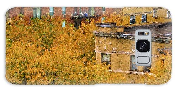 Autumn In Chicago Galaxy Case