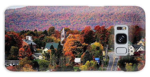 Autumn In Danville Vermont Galaxy Case