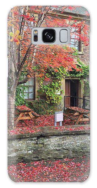 Autumn In Dunblane Galaxy Case