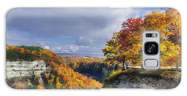 Chasm Galaxy Case - Autumn In Letchworth by Mark Papke