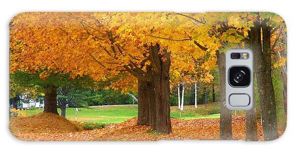 Autumn In Maine Galaxy Case by Jan Cipolla