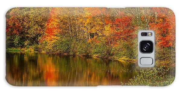 Autumn In Monroe Galaxy Case