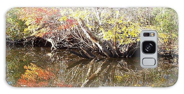 Autumn In Moyock Galaxy Case