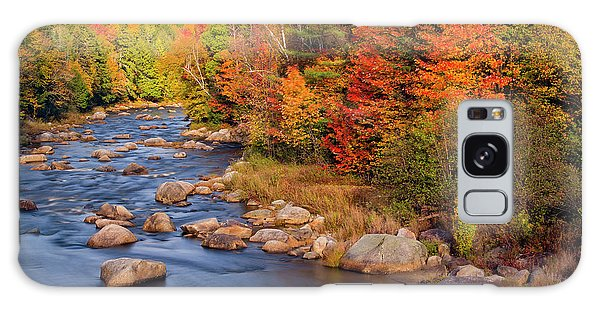 Autumn In New Hampshire Galaxy Case by Betty Denise