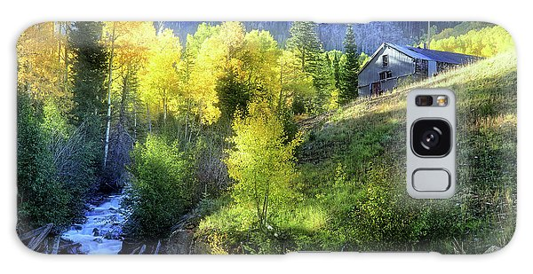 Galaxy Case featuring the photograph Autumn In Ophir - Colorado - Aspens by Jason Politte